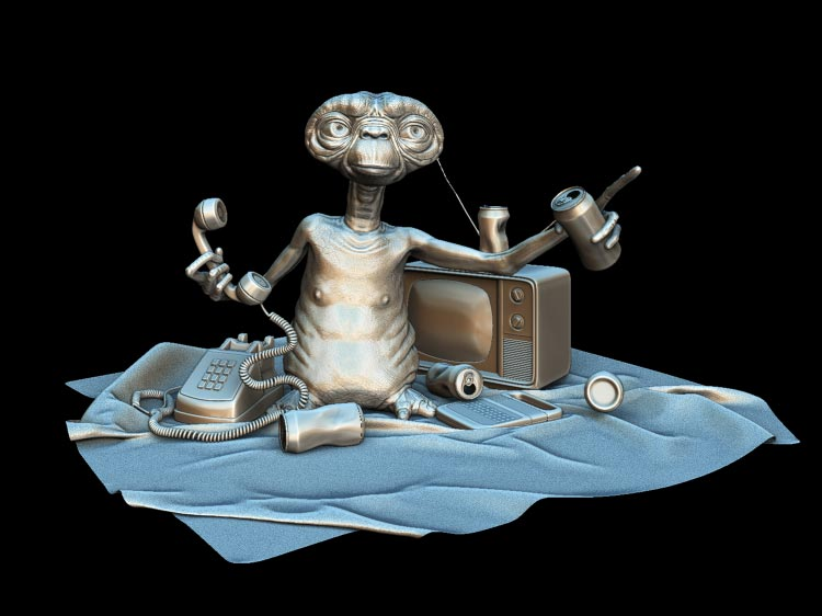 ZBrush 3D Turntables