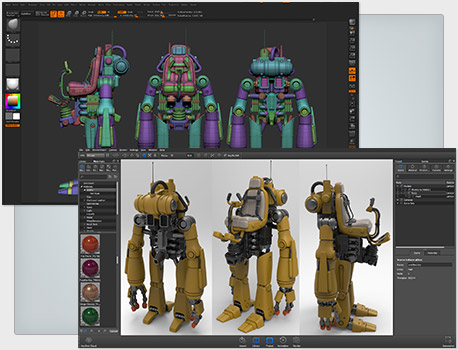 ZBrush Data Support